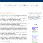 Comunicati Stampa Toscana