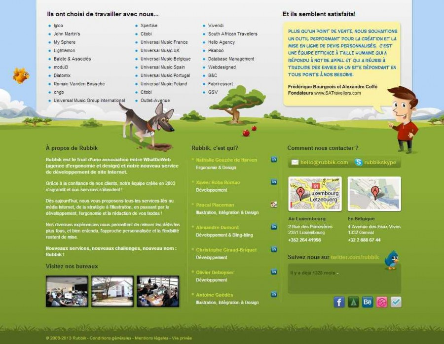 Rubbik, Agence Web - Bruxelles, Luxembourg