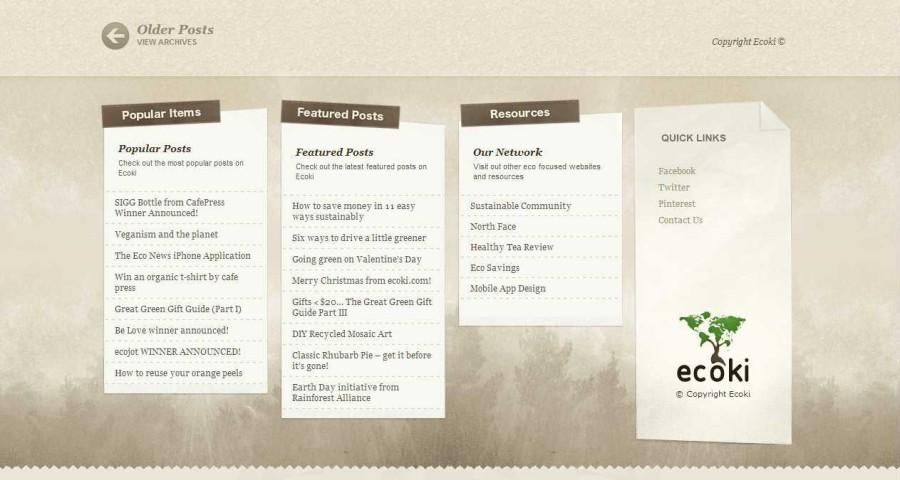 Ecoki - The Eco-Lifestlye Community
