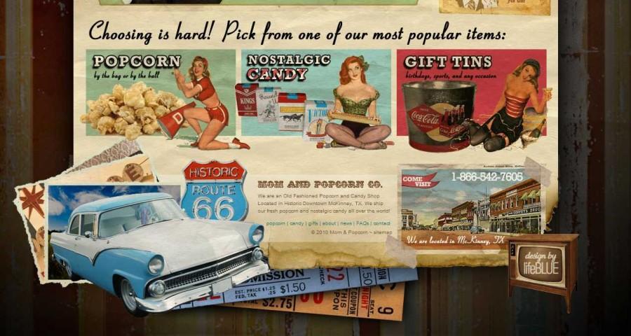 Mom & Popcorn - Nostalgic Candy, Gift Baskets & Popcorn ~ McKinney, TX