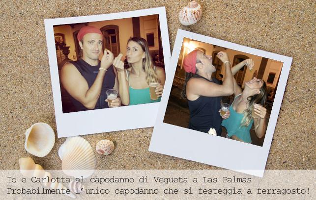 io e carlotta a Vegueta, Las Palmas