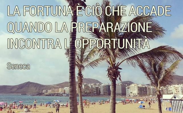 La fortuna è ciò che accade quando la preparazione incontra l'opportunità